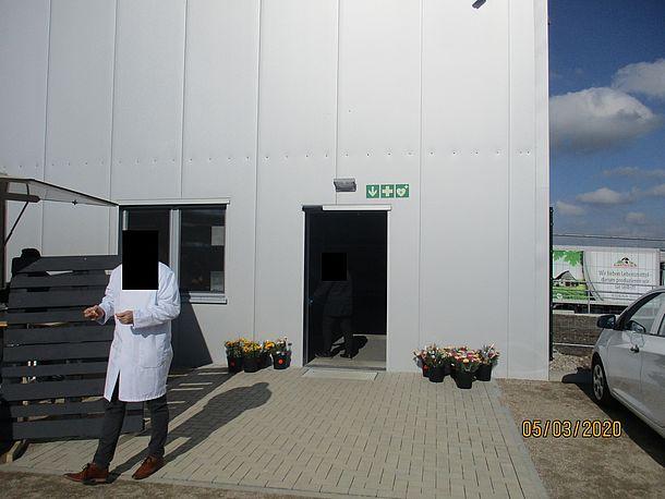 Eingang Fabrikverkauf
