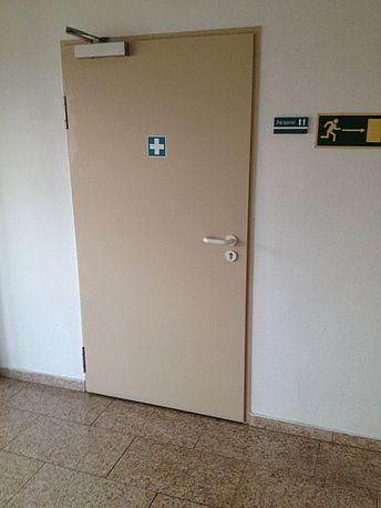 Eingang Vorraum Flur WC